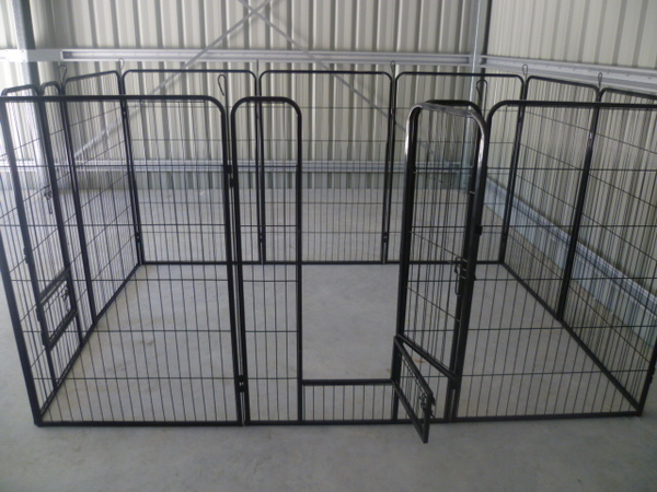 10 X Panel 1200 High Pet Dog Pup Run Enclosure Pen Barrier