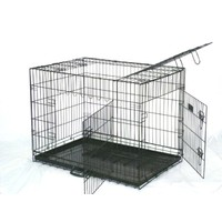 "48"" XX Large 3 Door Dog or Cat Crate"