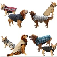 REVERSIBLE DOG COATS FROM XS - XXXL