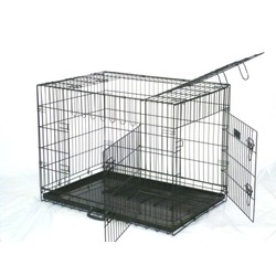 "36"" Large 3 Door Dog or Cat Crate"